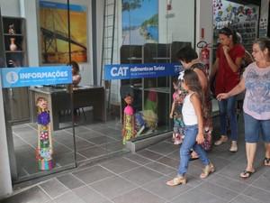 Centro de Atendimento ao Turista fica na ala Norte do Mercado Público (Foto: Petra Mafalda/PMF)