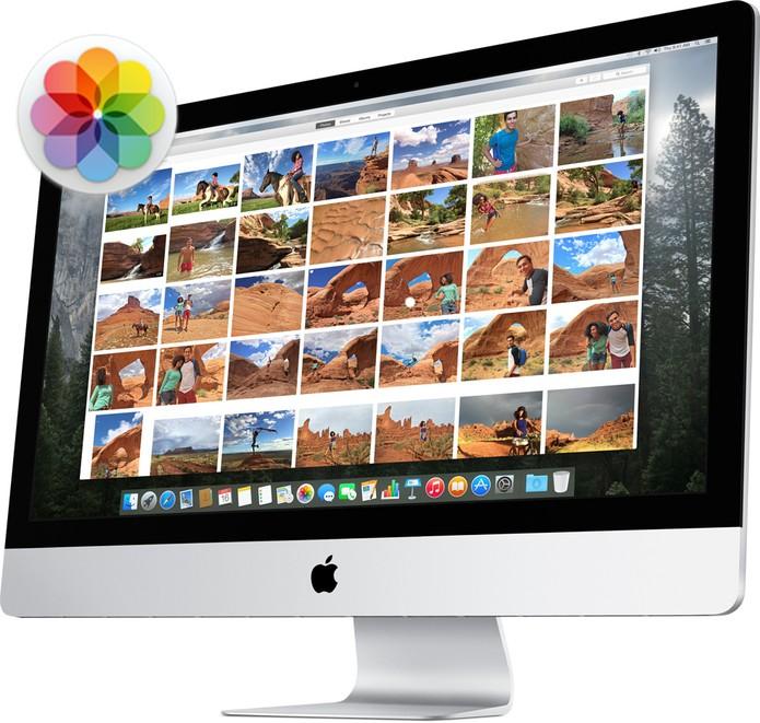 Apple Fotos (Foto: Divulgação/Apple)