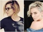 Natallia Rodrigues muda visual: mais platinada e com cabelos curtos