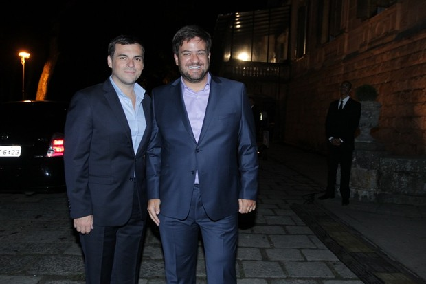 Sandro Barros e Bruno Astuto (Foto: Marcello Sá Barretto / AgNews)