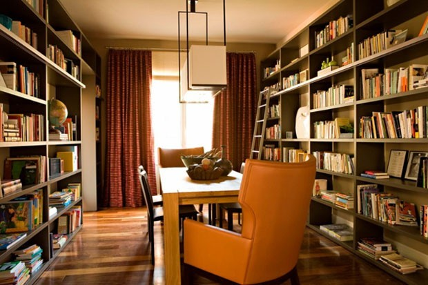 how to decorate a modern study