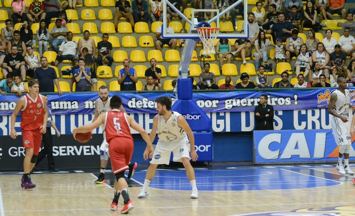 Mogi das Cruzes x Basquete Cearense NBB (Foto: Cairo Oliveira)