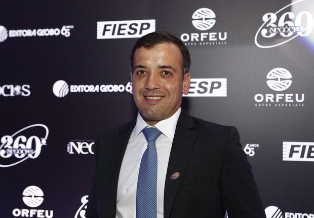 Ricardo Rittes, vice-presidente Financeiro e de Relações com Investidores da Ambev (Foto: Ricardo Cardoso)