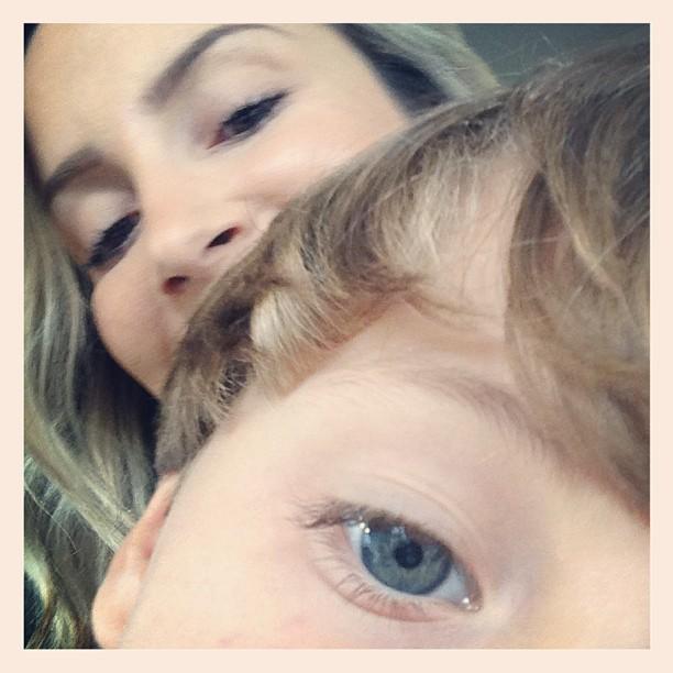 Claudia Leitte com o filho Davi (Foto: Instagram/ Reprodução)