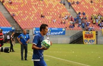 Titular nos dois últimos jogos, Nego cresce no Nacional e comemora fase