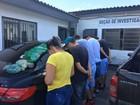 Quatro homens são presos no RS por fornecer armas e drogas à facção