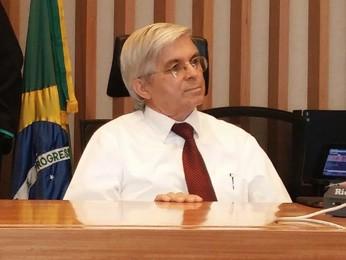Ex-presidente da comissão de licitação, Galeno Monte (Foto: Isabella Calzolari/G1)