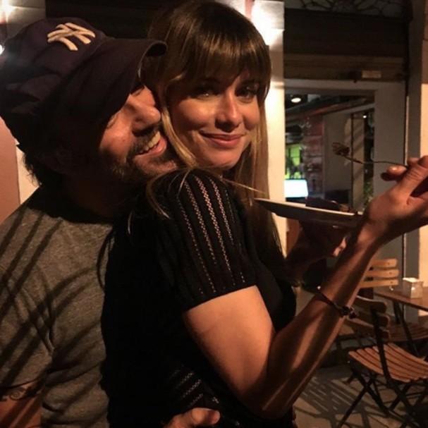 Alinne Moraes e Mauro Lima (Foto: Instagram/Reprodução)