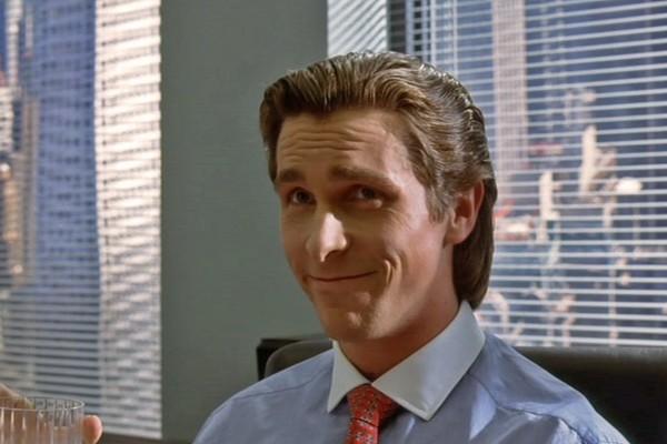 Christian Bale como Patrick Bateman (Foto: Reprodução)