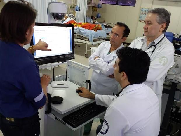 Hospital Walfredo Gurgel é o primeiro do Nordeste a receber a tecnologia (Foto: Divulgação)