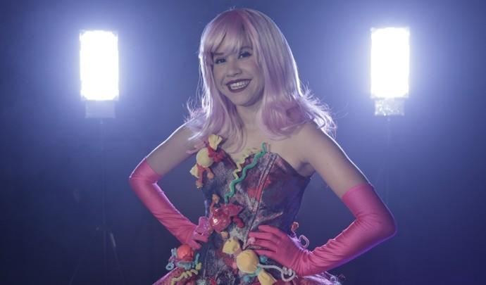 'Mais Diário' deste sábado (8) realizou o sonho da cantora de Santa Isabel (Foto: Reprodução / TV Diário )