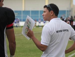 Treinador do Espectros, Brian Guzman (Foto: Ricardo Oliveira)