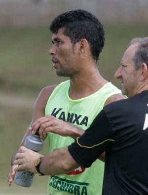 Marlon, lateral-esquerdo do Criciúma (Foto: Fernando Ribeiro / Criciúma EC)