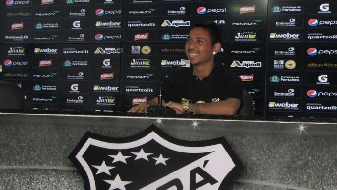 Tiago Cametá, Ceará, lateral (Foto: Juscelino Filho)