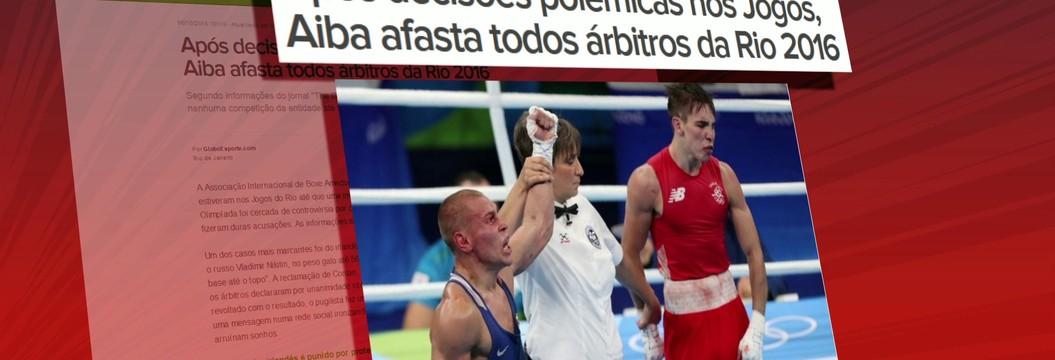 36 árbitros de boxe que trabalharam  na Rio 2016 são suspensos