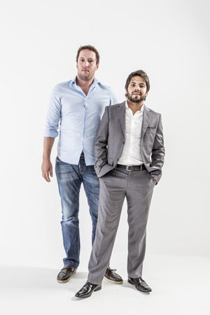 Murilo Oliveira e Felipe Iacocca, sócios-fundadores da agência digital iFruit.