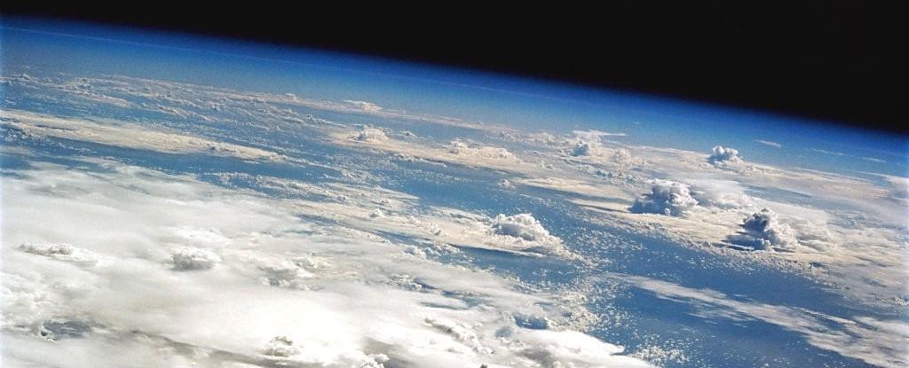 nuvens (Foto: NASA)