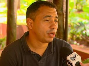 O pizzaiolo Luiz Roberto Alves Júnior tenta se livrar do mundo das drogas em Araraquara (Foto: Reprodução/ EPTV)