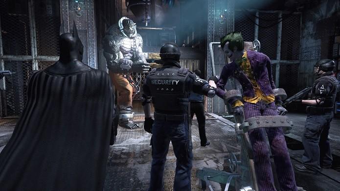 Batman: Return to Arkham  traz efeitos visuais aprimorados (Foto: Reprodução/Victor Teixeira)