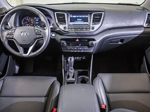 Interior do Hyundai Tucson (Foto: Divulgação)
