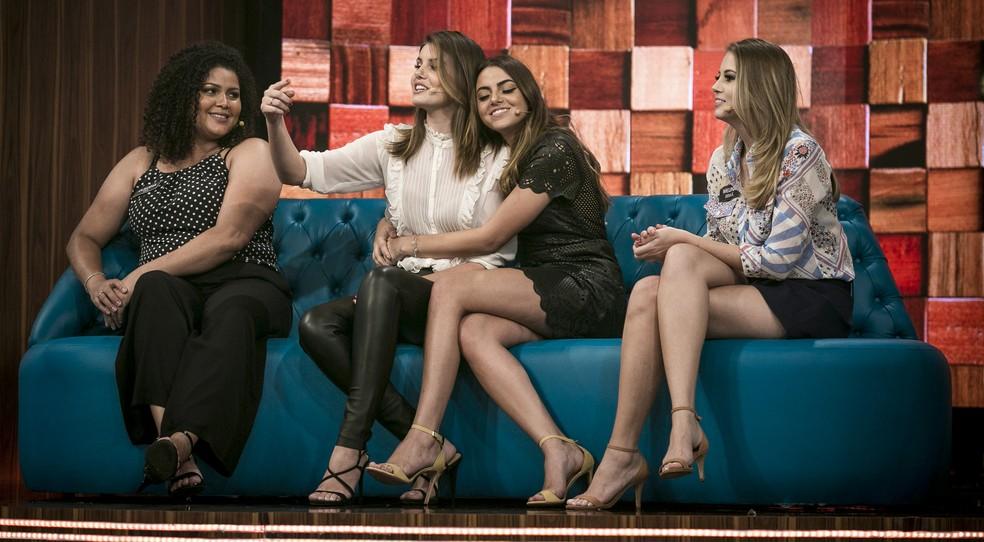 Muito amor na família da Camila Queiroz! (Foto: Isabella Pinheiro / Gshow)