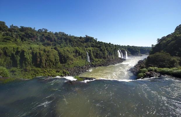 As Cataratas do Iguaçu (Foto: Buda Mendes/LatinContent/Getty Images)