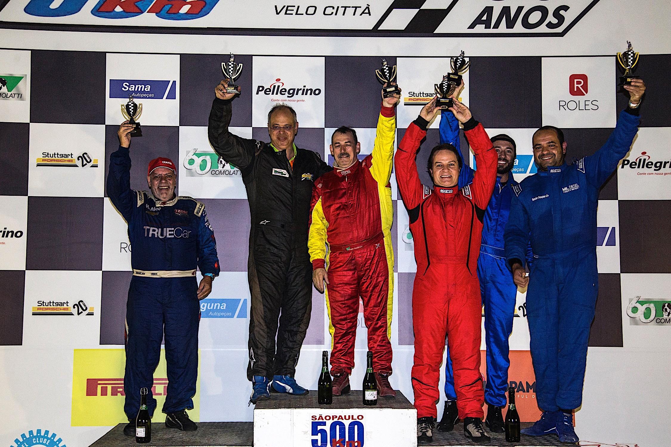 Resultado final dos 500 Km de São Paulo categoria P3 (Foto: Bruno Terena)