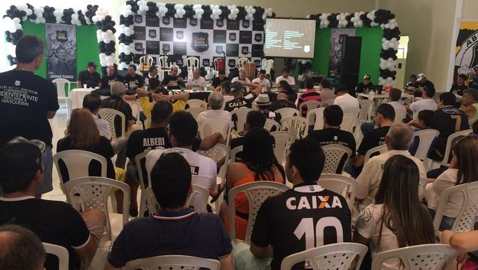 Judas Tadeu candidato a presidente do ABC (Foto: Klênyo Galvão/GloboEsporte.com)