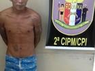Albergado condenado por homicídio espanca mulher, foge e é preso em RR