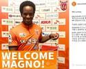 Destaque do Atlético-GO, Magno Cruz assina com clube da Coreia do Sul