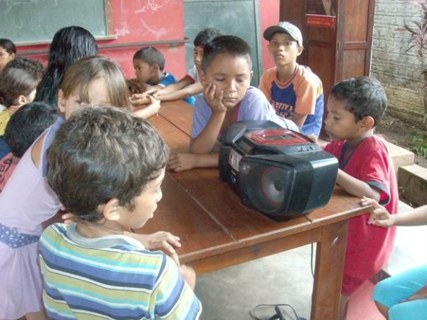 Projeto Rádio Pela Educação 2 (Foto: divulgação)