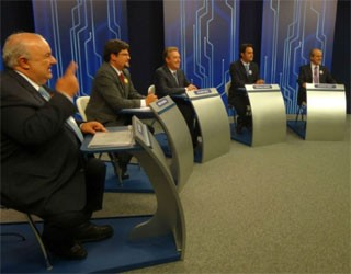 Paraná TV 1ª Edição (Foto: Sérgio Tavares Filho/G1)