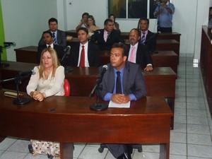 Dez vereadores eleitos tomam posse (Foto: Cortesia/ Tomaz Gouveia)