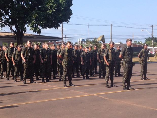 Brigada vai comandar batalhões do Amapá, Maranhão e Pará (Foto: Cassio Albuquerque/G1)