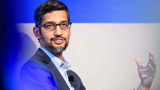 Sundar Pichai, CEO do Google Inc. (Foto: Divulgação/World Economic Forum/Manuel Lopez)