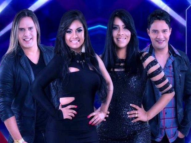 Nova formação da banda Calcinha Preta (Foto: Divulgação / assessoria)