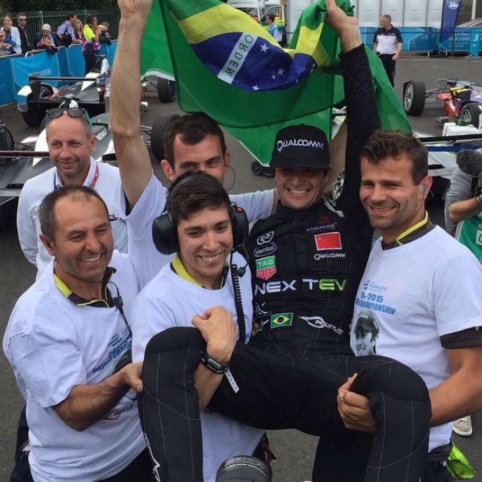 Nelsinho Piquet Fórmula E (Foto: Reprodução Facebook)