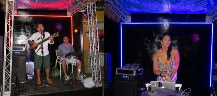 Mário Moreno e DJ Marcela