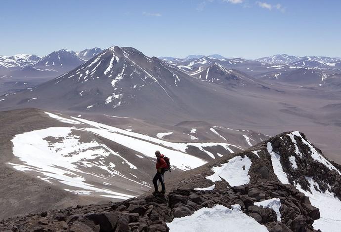 Ao todo, os alpinistas chegaram ao cume de 12 montanhas nos Andes (Foto: Caio Vilela)