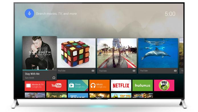 Android TV é restrito a televisores da Sony e da Philips no Brasil (Foto: Divulgação/Sony) (Foto: Android TV é restrito a televisores da Sony e da Philips no Brasil (Foto: Divulgação/Sony))