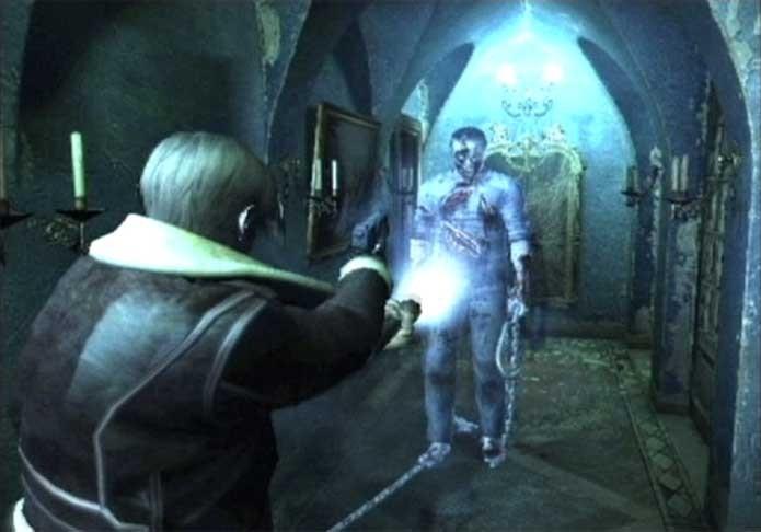 A versão cancelada de Resident Evil 4 trazia elementos paranormais (Foto: Reprodução/RE Archives)