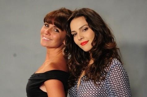 Giovanna Antonelli (Clara) e Tainá Muller (Marina) (Foto: TV Globo)