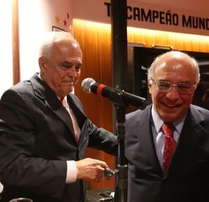 Leco e Ataíde Gil Guerreiro São Paulo (Foto: Alex Silva/Estadão Conteúdo)