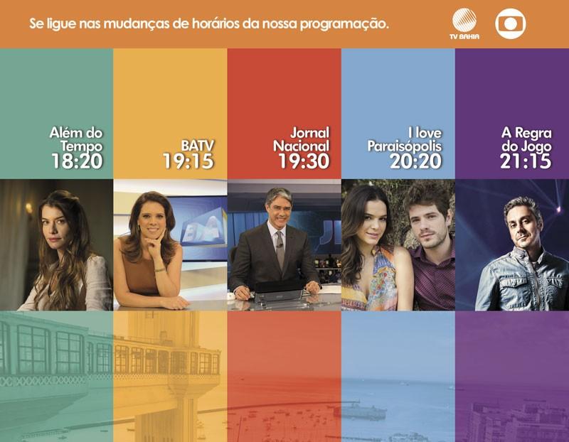 Rede Globo Redebahia Programacao Tem Mudancas Durante O Horario De Verao