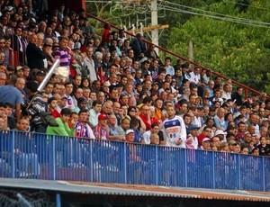 Torcida do Friburguense foi destaque na Série A do Campeonato Carioca deste ano (Foto: Vinícius Gastin)