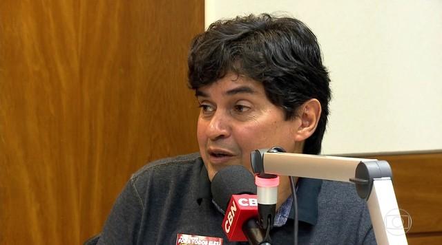 Altino de Melo fala à Rádio CBN sobre o programa de governo