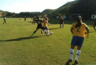 Gol da partida foi marcado por Rafaela (Foto: Igor Bravo/Fair Play Assessoria)