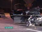 Criminosos em fuga provocam acidente em São Caetano do Sul