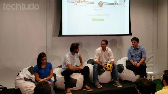 Novo Cartola FC é anunciado em São Paulo (Foto: Fabrício Vitorino / TechTudo)