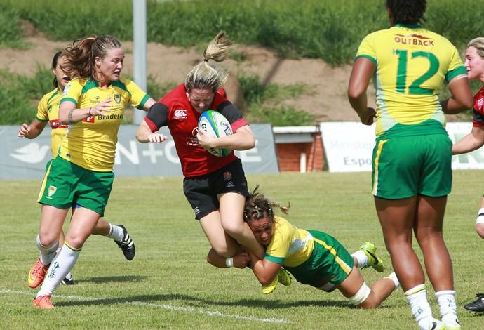 rúgbi feminino - seleção brasileira (Foto: Luiz Pires/Fotojump)